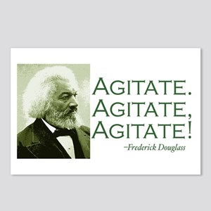 "Frederick Douglass ""Agitate!"" Postcards (8)"